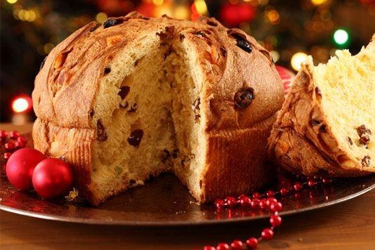 Tradičný vianočný koláč Panettone