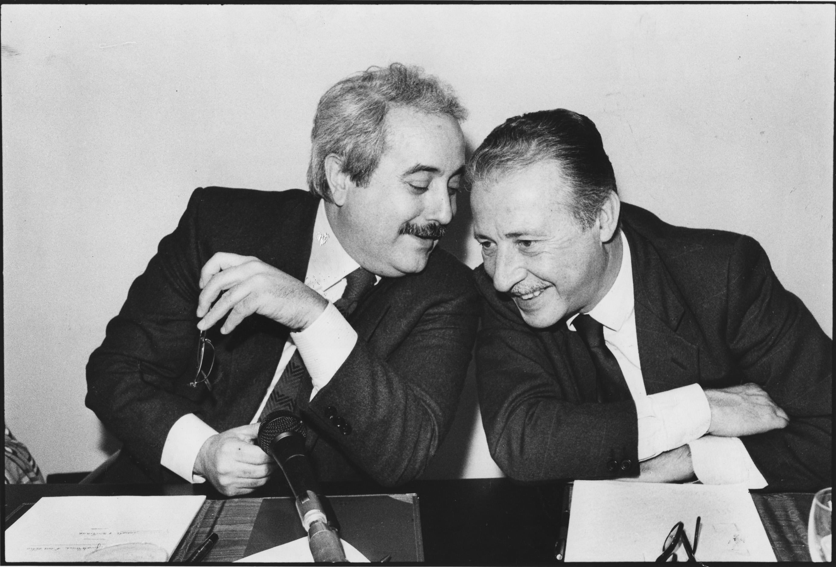 G. Falcone a P. Borsellino