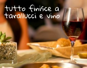Talianske frázy - Taralluci e vino.