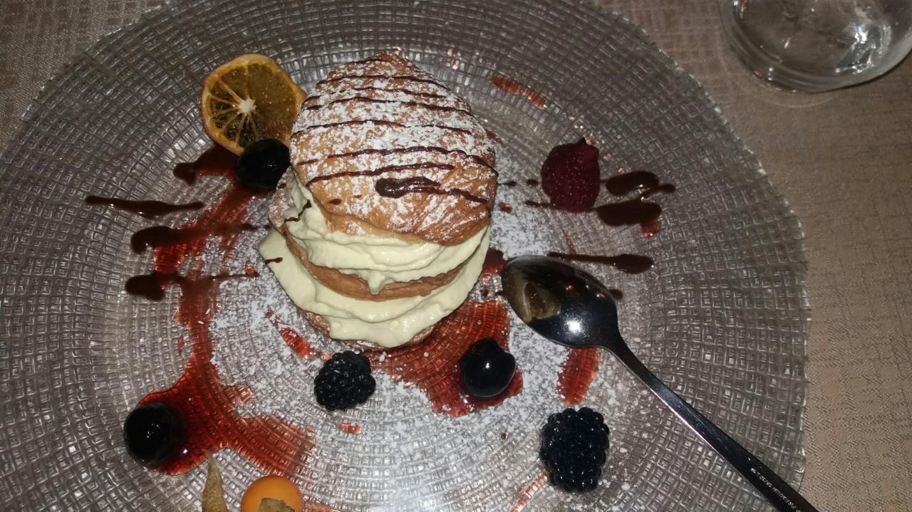 Millefoglie - dezert z lístkového cesta