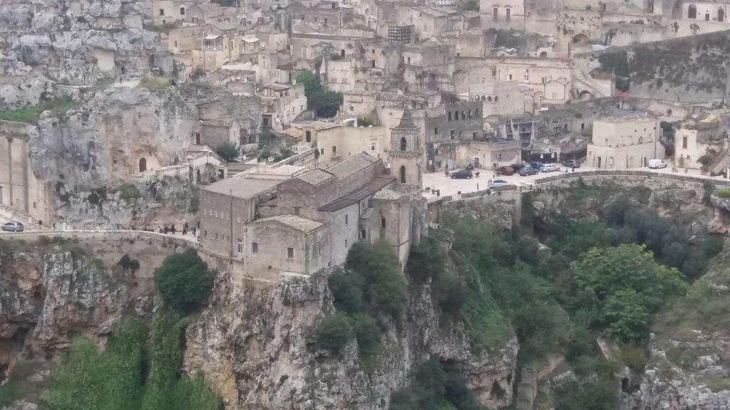 Matera - skalné mesto